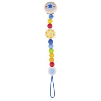 Wooden Sun Soother Chain by Heimess (736340) | LeVida Baby