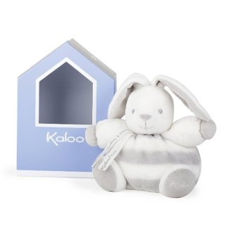 Kaloo Chubby Rabbit Grey & Cream (Small) | LeVida Baby
