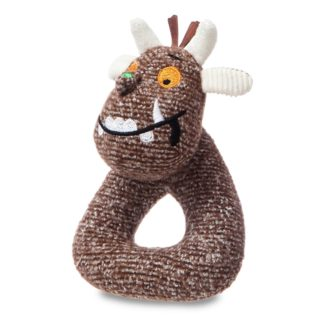 The Gruffalo Baby Ring Rattle by Aurora | LeVida Baby