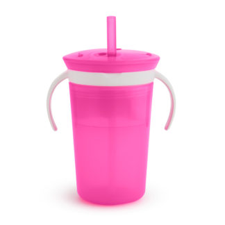 Munchkin Sippy Snack: 12m+ (Pink)