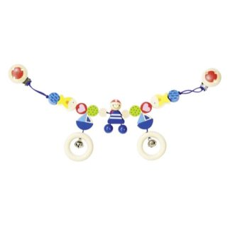 Wooden Pirate Pram Chain by Heimess (734820) | LeVida Baby
