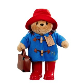 Large Classic Cuddly Paddington With Boots and Suitcase (33cm)