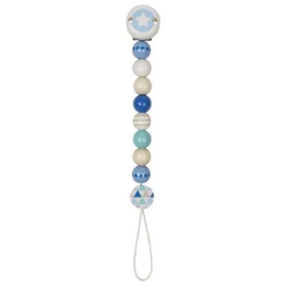 Blue Star Soother Chain (Heimess 765750) - LeVidaBaby