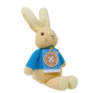 Peter Rabbit Made With Love Knitted Toy