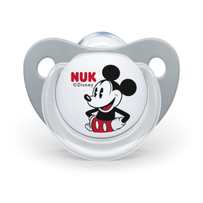 NUK Disney Soother Twin Pack: 6-18m (Mickey Mouse)