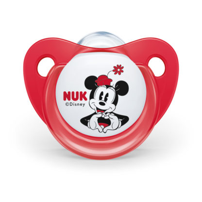 NUK Disney Mickey & Minnie Mouse Orthodontic Soother Twin Pack: 0-6m