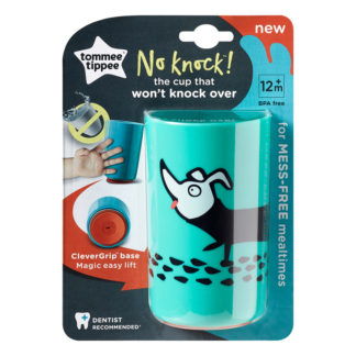 Tommee Tippee No Knock Cup 300ml: 12m+ (Dog)