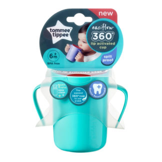 Tommee Tippee Easiflow 360° Training Cup 200ml: 6m+ (Green)