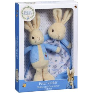 Peter Rabbit Rattle & Comforter Gift Set - LeVidaBaby