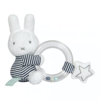 Miffy Stripes Ring Rattle - LeVidaBaby