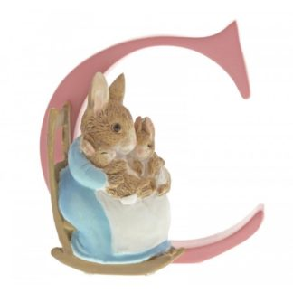 """C"" Mrs Rabbit and Bunnies - Peter Rabbit Letter"