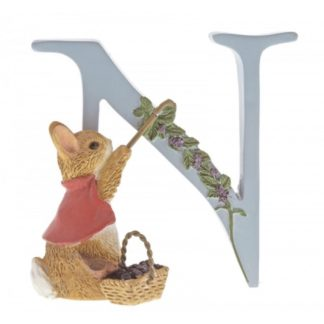 """N"" Cotton-tail - Peter Rabbit Letter"