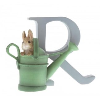 """R"" Peter Rabbit in Watering Can - Peter Rabbit Letter"