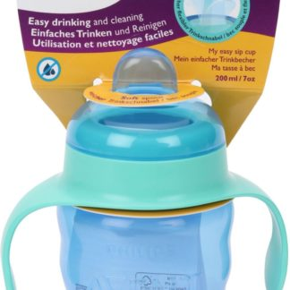 Avent Easy Sippy Cup 200ml 6m+ (Blue & Green)
