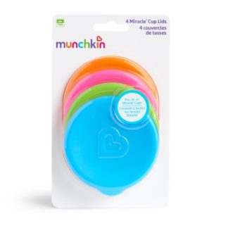Pack of 4 Munchkin Miracle Cup Lids