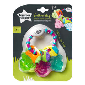 Tommee Tippee Teethe 'n' Play Water Filled Teether Keys