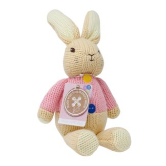 Flopsy Rabbit Made With Love Knitted Toy