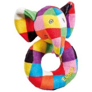 Elmer Ring Rattle by Rainbow Designs - LeVidaBaby