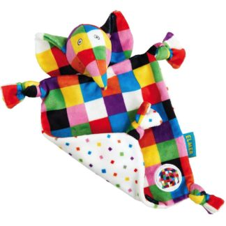Elmer Comfort Blanket by Rainbow Designs - LeVidaBaby
