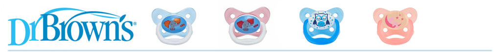 Dr Brown's Soother Range from LeVidaBaby