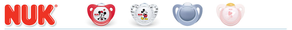 NUK Soother Range from LeVidaBaby