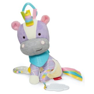 Skip Hop Bandana Buddies Activity Toy - Unicorn - LeVidaBaby