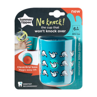 Tommee Tippee No Knock Cup 190ml: 6m+ (Dogs)