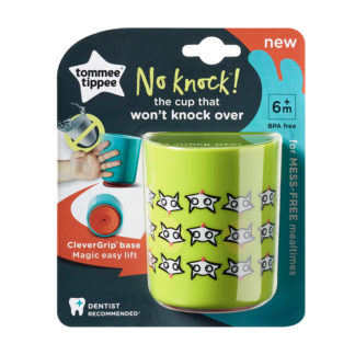 Tommee Tippee No Knock Cup 190ml: 6m+ (Foxes)