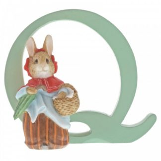 """Q"" Mrs Rabbit - Peter Rabbit Letter"