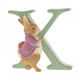 """X"" Old Mr Benjamin Bunny - Peter Rabbit Letter"