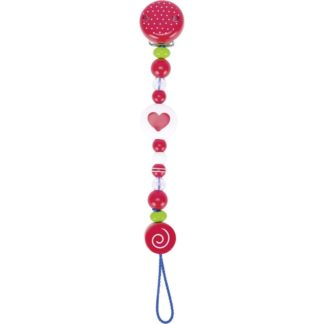 Red Heart Soother Holder